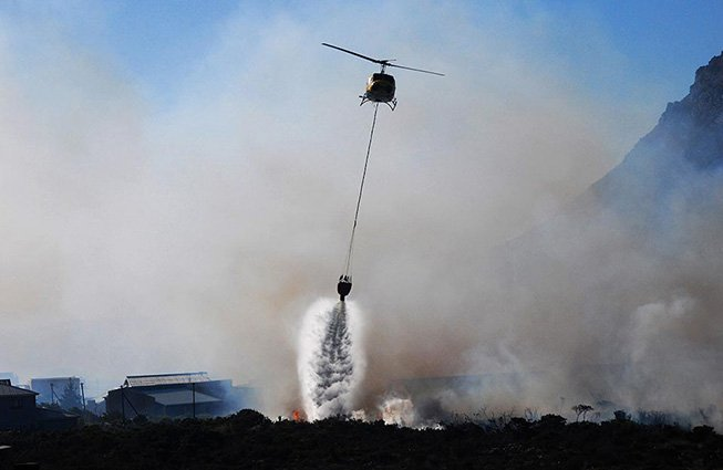 Helicopter Firefighting Wichita